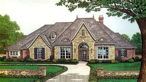 french country house plans one story french country