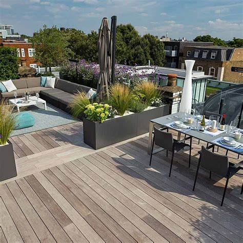terrace garden section roof terraces gardens by contemporary london designers