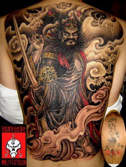 oriental god tattoo full back tattoo designs kuch khaas