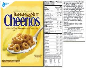 cheerios product list
