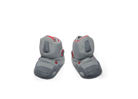 like thinkgeek giant robot slippers with sound