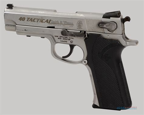 smith wesson 40 tactical smith wesson 4006tsw tactical 40 s w cal pistol