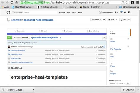 heat template openshift on openstack
