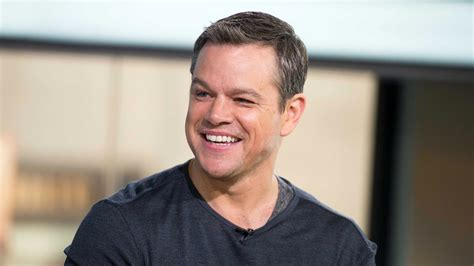 matt damon then and now matt damon reveals the toughest part about reprising