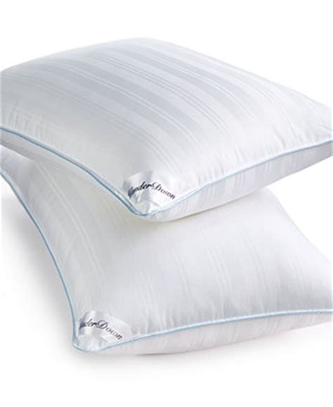 Macy S Pillow by Sensorgel Wonderdown Luxury Alternative Bed Pillows