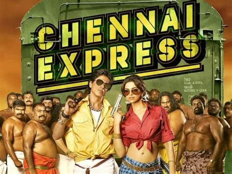biography of movie chennai express shahrukh khan s chennai express title track released