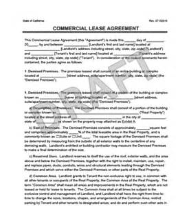 Retail Lease Agreement Template by Commercial Lease Agreement Templates