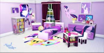 my pony bedroom decor my sims 4 blog my little pony bedroom set by miguel