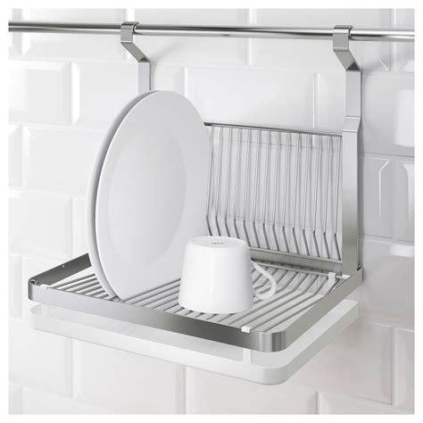 ikea dish rack grundtal dish drainer stainless steel 35x26 cm ikea