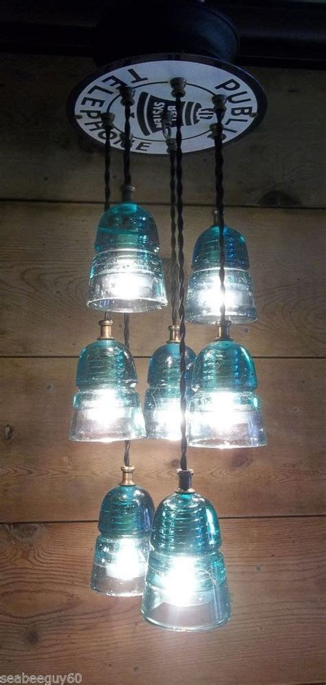 Insulator Light Fixture Glass Insulator Pendant Light Fixture Telephone