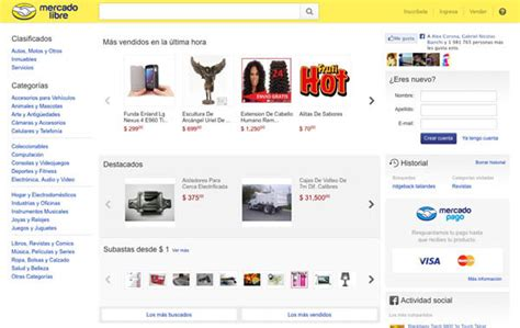 pagina oficial de p 225 gina oficial de mercado libre www mercadolibre com mx
