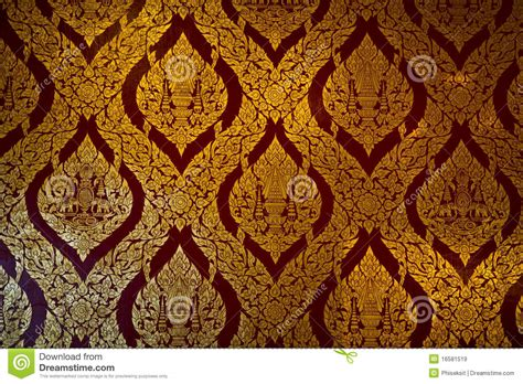thai pattern history pattern thai temple stock image image of asian line