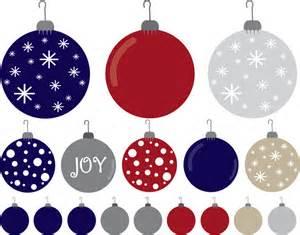 it a ornament clipart ornaments set