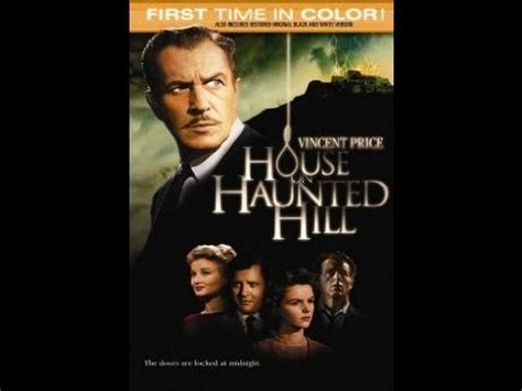 haunted house full movie house on haunted hill full movie starring vincent price youtube