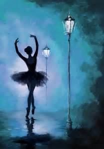 Peace Duvet Cover Ballet In The Night Painting By Corporate Art Task Force