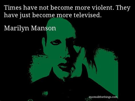 discover famous marilyn manson quotes you don t know