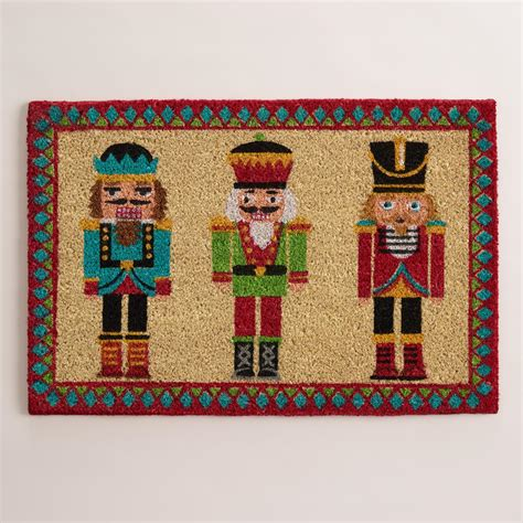 nutcracker rug nutcracker doormat world market