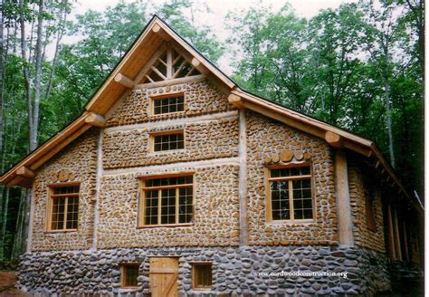 cordwood million dollar mansion cordwood construction