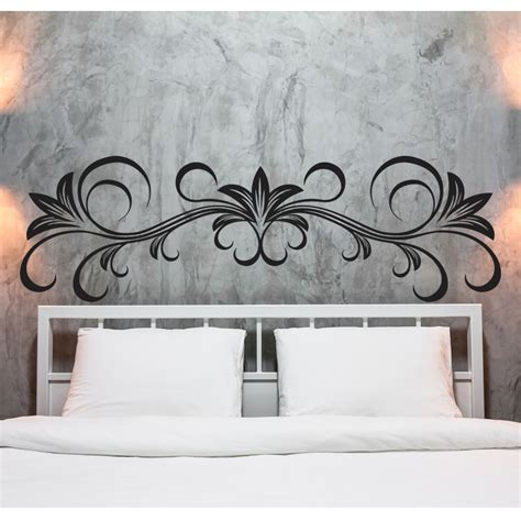 adesivi murali da letto adesivi follia adesivo murale testata letto