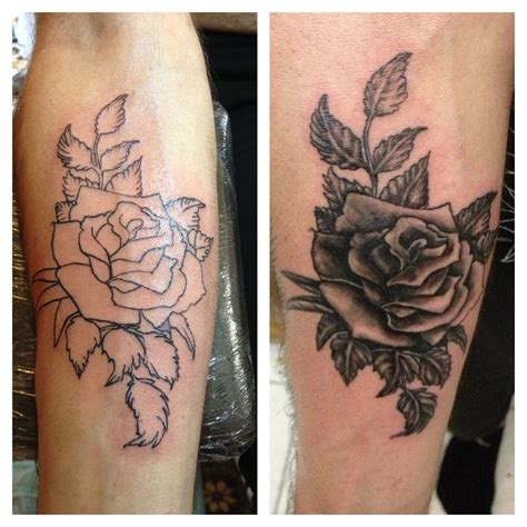 white and black rose tattoos discover and save creative ideas