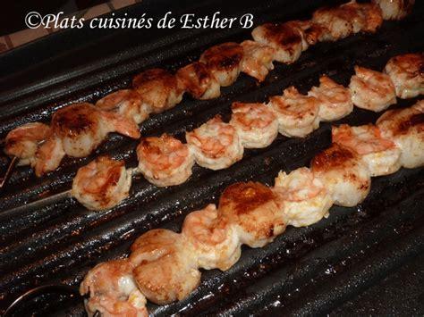 brochettes de fruits de mer sur b b q recette brochettes de fruits de mer sur b b q recette