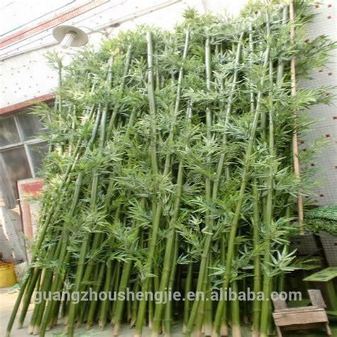 q092014 tanaman hias dekorasi luar ruangan tiang bambu