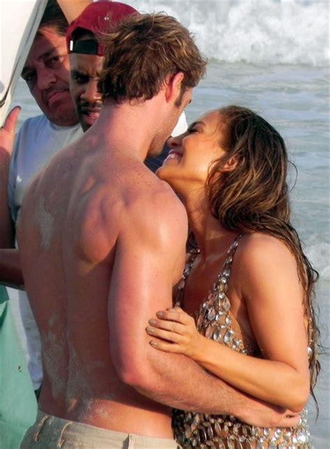 celebrity on vacation video jennifer lopez in a photoshoot on the beach zimbio