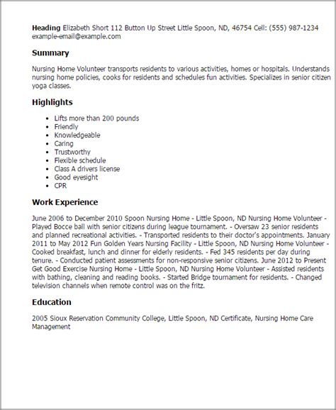 Sle Resume For Caregiver Position Elderly 28 resume sle for caregiver enernovva org