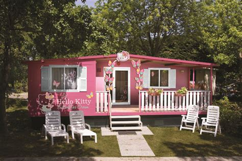 hello kitty mansion hello kitty house the cutest mobile home for your