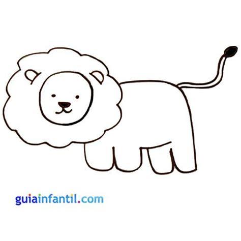 imagenes de leones faciles para dibujar selvas para dibujar faciles imagui