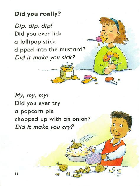 funny cooking poems