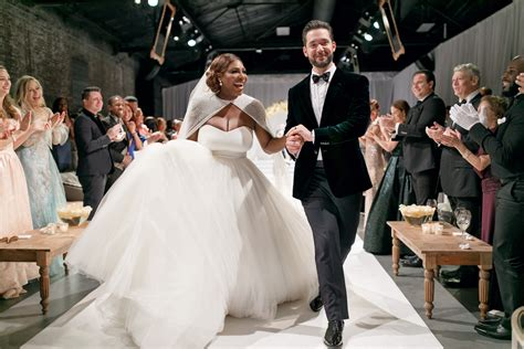 Designers Christopher Deane Dress Machine Second City Style Fashion Second City Style by Serena Williams And Ohanian S Wedding Album Brides