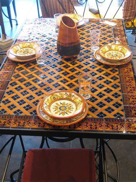 mosaic home decor perfect mosaic dining table 50 in interior decor home with