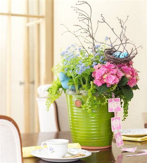 flowers decor mothers day table decoration and centerpiece ideas 24