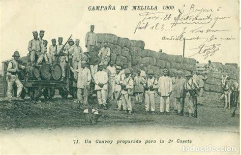 la guerra de marruecos 8490609780 guerra de marruecos ca 241 a melilla 1909 conv comprar postales militares en todocoleccion