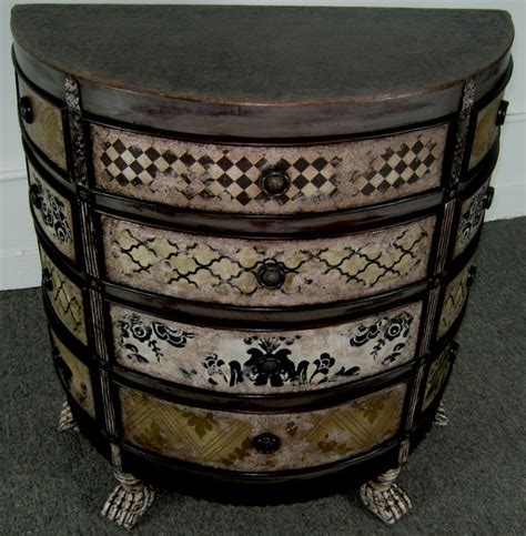 media chest for living room hand painted mixed media 12 drawer chest for sale