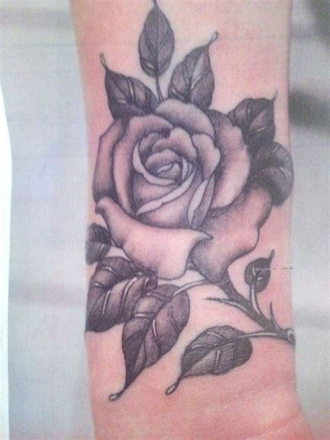 rose tattoo shading danielhuscroft com black grey shaded this is the one obsessed