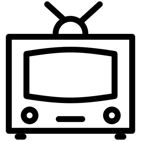 Tv Outline Png by Tv Icon Line Iconset Iconsmind