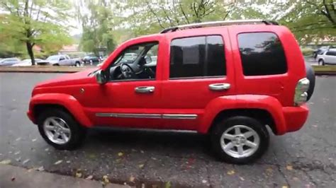 red jeep liberty 2005 2005 jeep liberty limited red 5w606124 kirkland