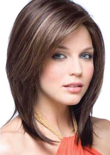 cortes de pelo medianos corte de cabello mediano castano jpg 444 215 622 cortes y