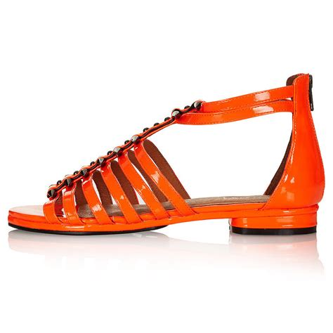 Sandal Cardin T Orange topshop new season summer sandals we