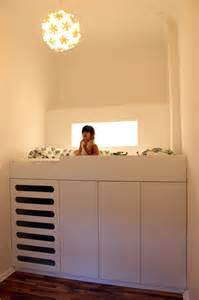 Bunk Bed With Space Underneath Amazing Loft Bed With A Closet Underneath Great Space Saving Idea For A Room Kidsomania