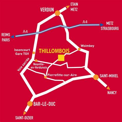 Accès   Le Château de Thillombois