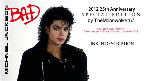 Bad Cover California 7 michael jackson bad 2012 25th anniversary special edition by themoonwalker57
