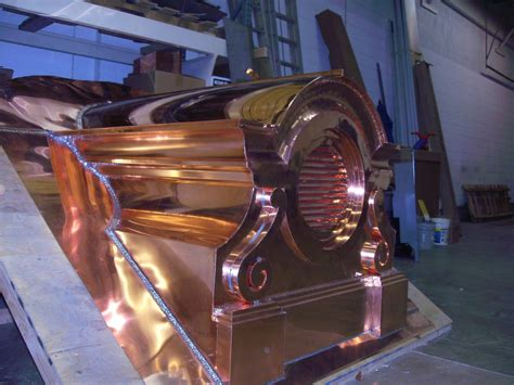 Copper Dormer Handmade Custom Copper Roof Dormer By S S Copper Products