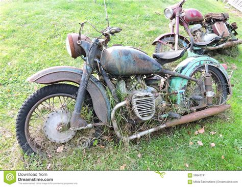 Alte Motorrad Bilder by Old Motorcycles Stock Photo Image 59841741