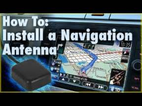 installing a new stereo into a car how to install a gps navigation antenna car stereo