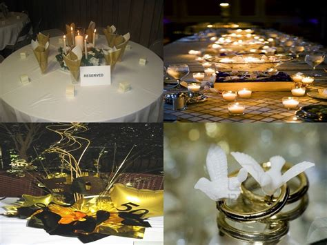 gold anniversary themes 50th wedding anniversary decorations go for a gold time