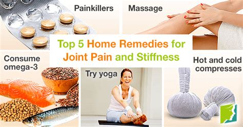 Home Remedies For Joint by Top 5 Home Remedies For Joint And Stiffness