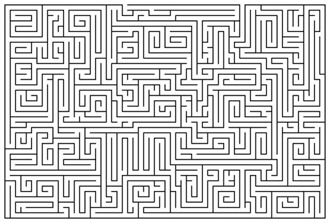 printable free mazes the gallery for gt difficult mazes for kids
